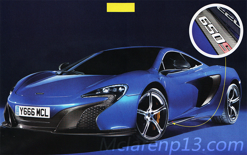 McLaren argue that the 650S is not the successor of the 12C. But McLaren may be wrong-12C ,version 2 is here