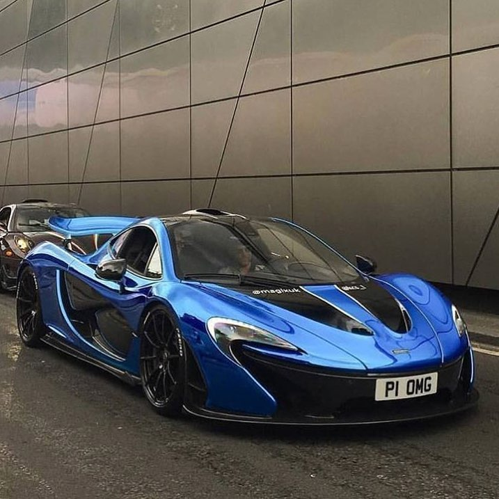 chrome blue mclaren p1 yes or no rate 1 100 follow me daily