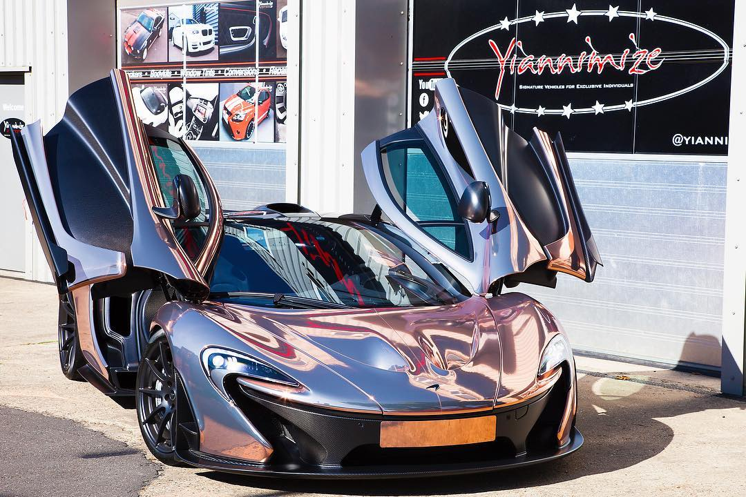 p1 in chrome rose gold la muscle f17one yiannimize pic