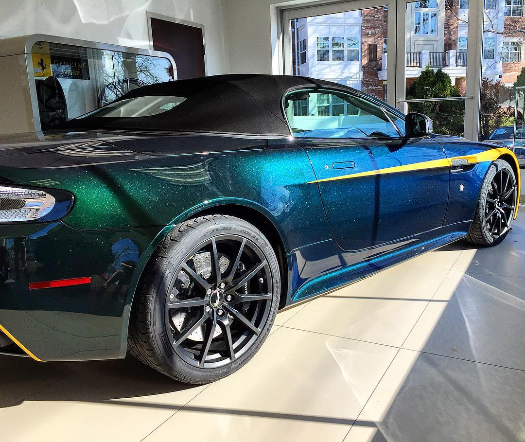 "The ""Karosserie Racing Green"" Aston Martin V12 Vantage S"